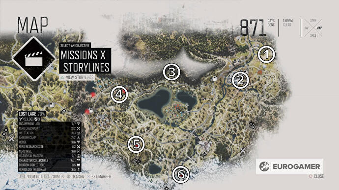 days_gone_lost_lake_all_horde_locations