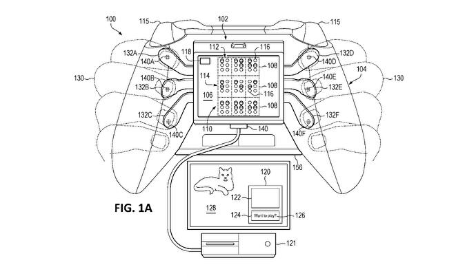 Microsoft patent submission reveals haptic Braille accessory for Xbox controllers
