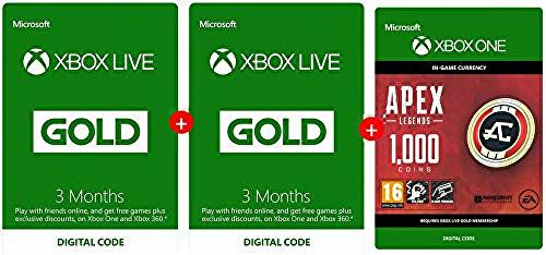 Xbox Live Gold deal: six months sub and 1000 Apex Coins for £15