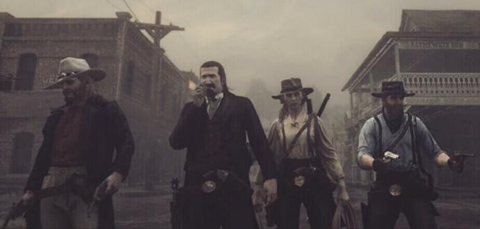 Red Dead Redemption 2 players have recreated the Van der Linde gang