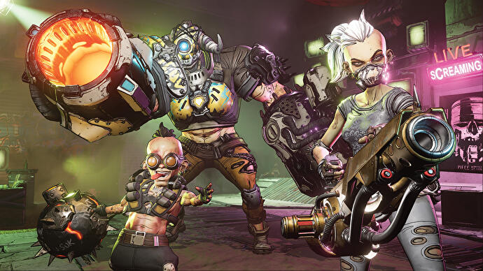 Borderlands 2 current player numbers suggest Borderlands 3