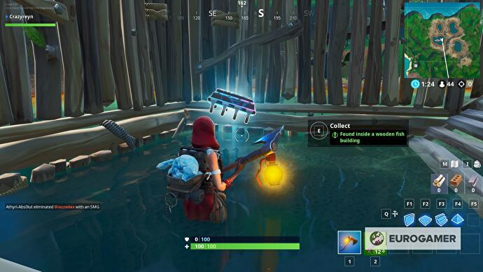 Fortnite Fortbyte Locations List And All Fortbytes Map Eurogamernet