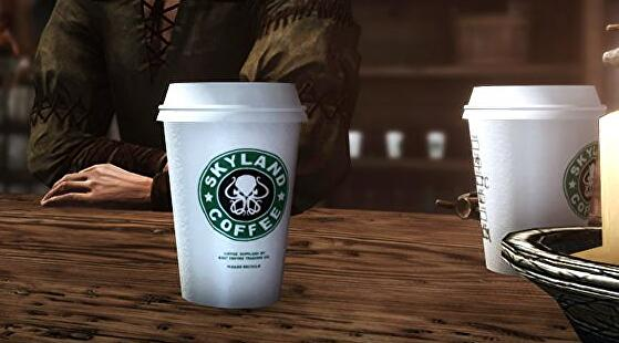 Skyrim Mods Let You Add Game Of Thrones Starbucks Cup