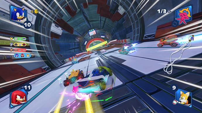 Team Sonic Racing review - a smart spin on the character