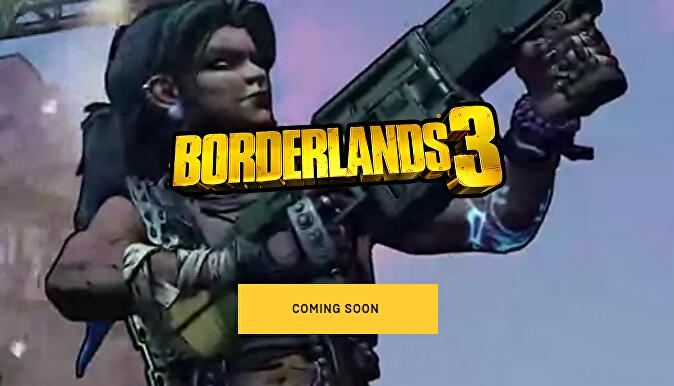"2"" data-uri = ""2019 / articles / 2019-05-18-12-49 / Screenshot_2019_05_18_at_12.48.44.png"" />    <figcaption> Borderlands 3 is currently coming soon on the Epic Games store. </figcaption></figure> <p> 2K appears to have been able to pre-order the digital edition of the PC version on the official Borderlands website. </p><div><script async src="
