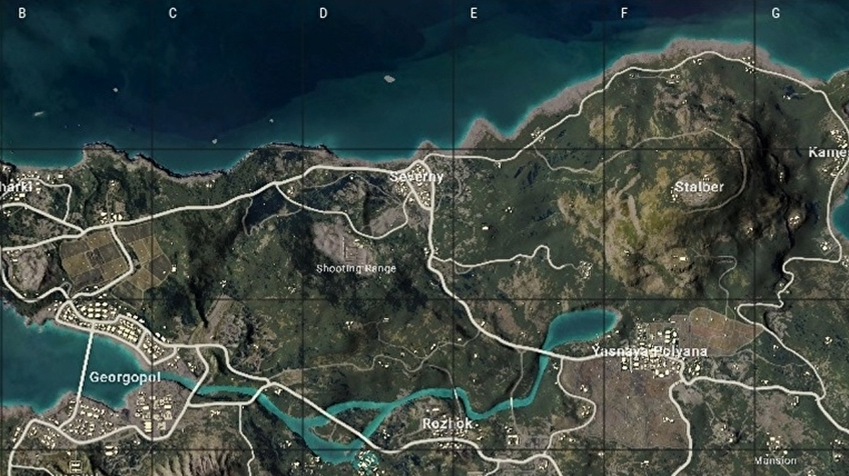 Pubg Erangel Map Vehicles Best Start Locations And Erangel Map Strategies Eurogamer Net