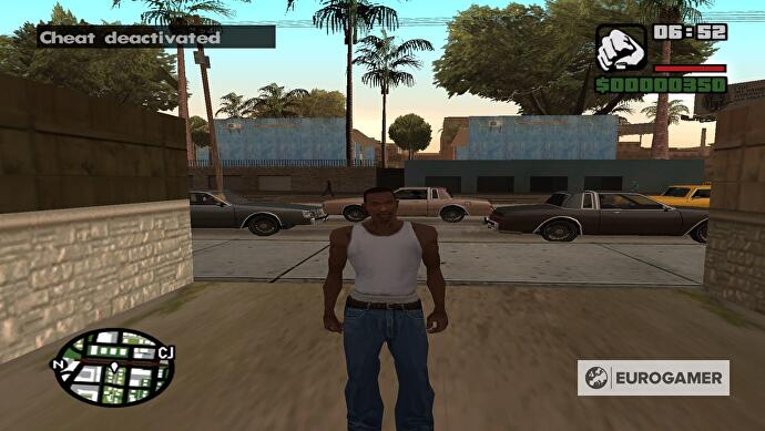 GTA San Andreas cheat codes: all cheats for Xbox, PS2, PS3