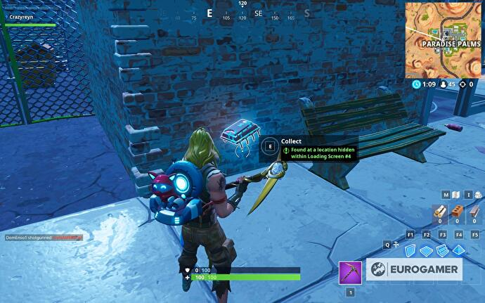 Fortnite Utopia secret Battle Star locations from each loading
