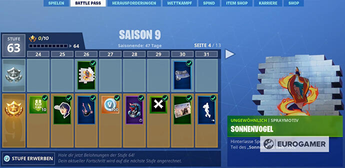 Fortnite_Season_9_Spraymotiv_Sonnenvogel_Fortbyte_61