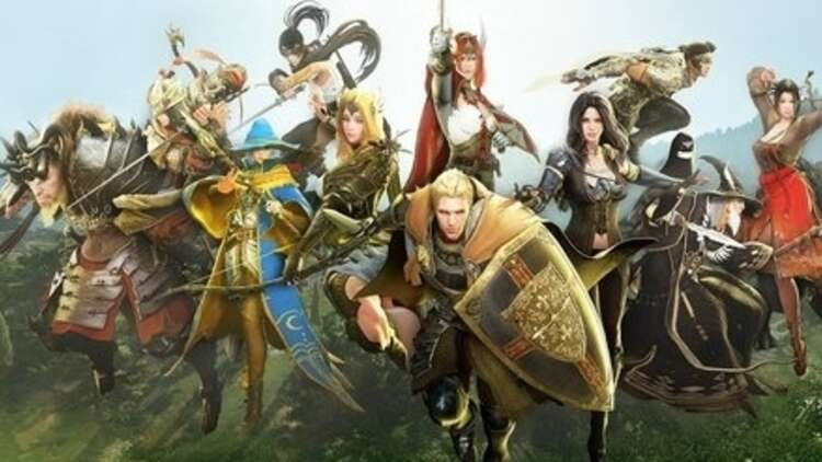 Black Desert Online, the MMORPG with the fancy character