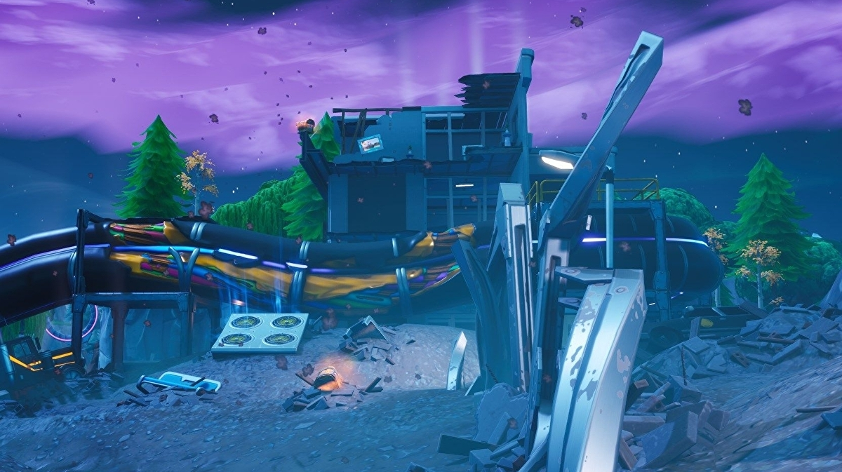 Fortnite patch adds new AOE healing item, more monster