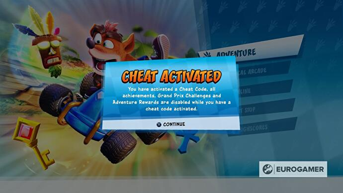 Crash Team Racing: Nitro-Fueled cheats list - all PS4, Xbox
