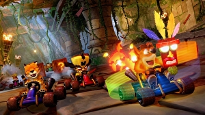 Crash Team Racing Nitro Fueled debutta al primo posto in UK: