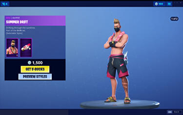 Fortnite Fans Accuse Epic Of Bending Own Rules After Battle Pass Character Drift Sold With Beachwear Outfit Eurogamer Net You need to earn 200. fortnite fans accuse epic of bending