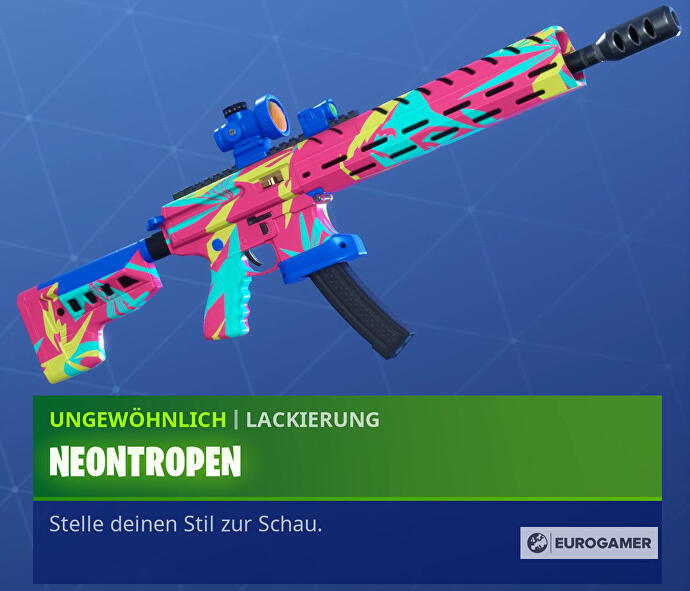 Fortnite_14_Tage_Sommer_Lackierung_Neontropen