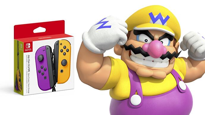 Switch is getting a few new official Joy-Con colours, and one's a little bit Wario • Eurogamer.net