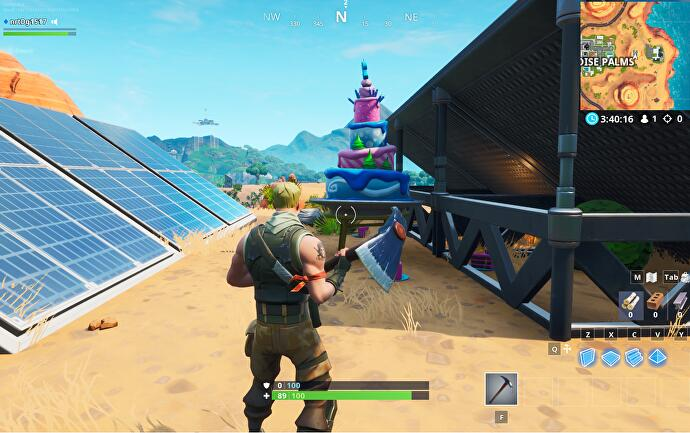 Fortnite Birthday Cake locations: Where to find the 10