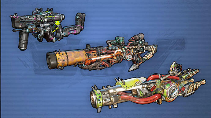 Borderlands 3 weapons manufacturers and weapon rarity explained