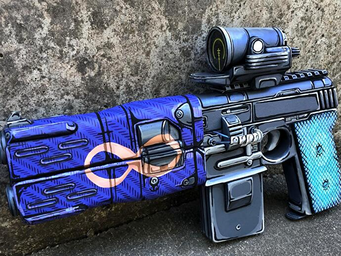 Borderlands_3_Infinity_Pistol_Nachbau_Fan