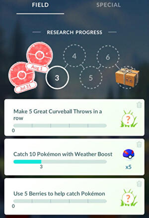 Pokemon_Go_Research_Tasks