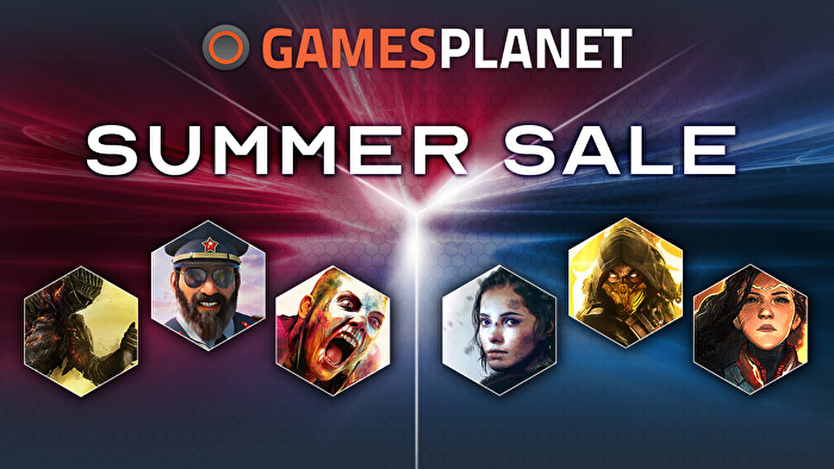 Here's your chance to win one of ten PC games from Games Planet