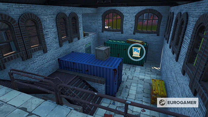 Fortnite_Season_10_Container_mit_Fenster_SO_von_Dusty_Depot_Prestigemission_Bunte_Ballerei