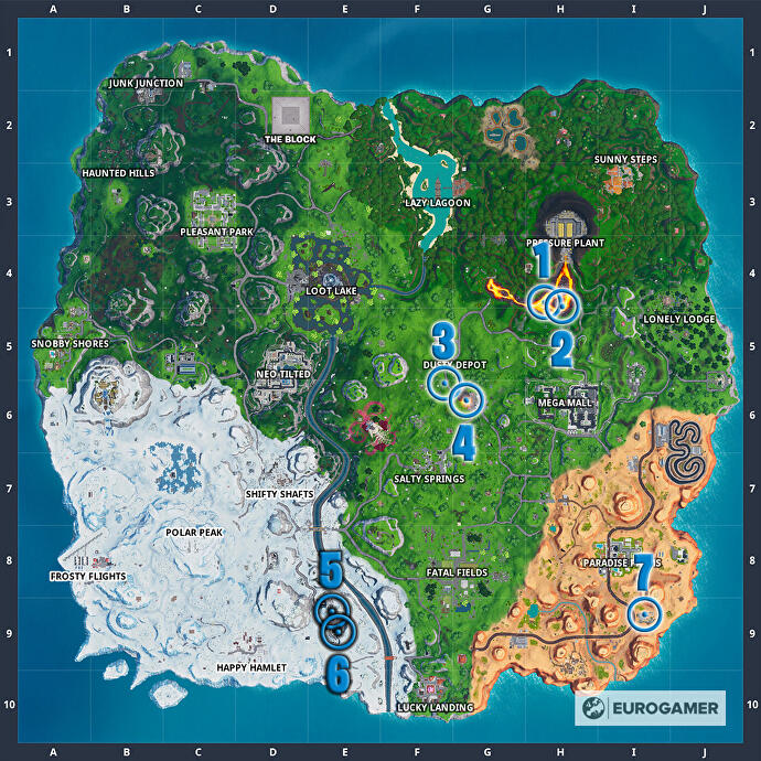 Fortnite_Season_10_Karte_mit_allen_Truhen_in_Containern_mit_Fenstern_Mission_Bunte_Ballerei