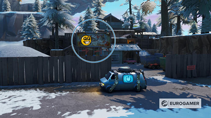 Fortnite_Season_10_Reklametafel_mit_Graffiti_in_Shifty_Shafts_Prestigemission_Bunte_Ballerei