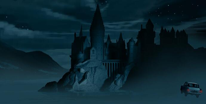 Wizards_Unite_Hogwarts_at_Night