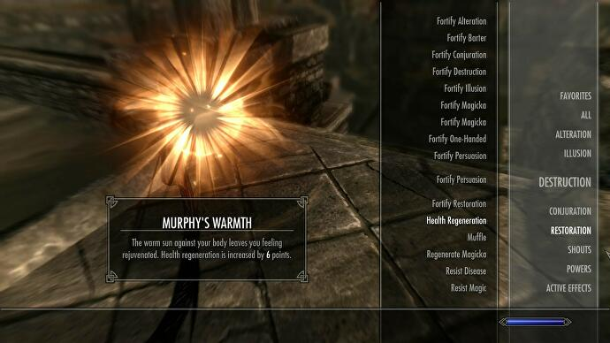 After a Skyrim modder's dog passed away, he immortalised him