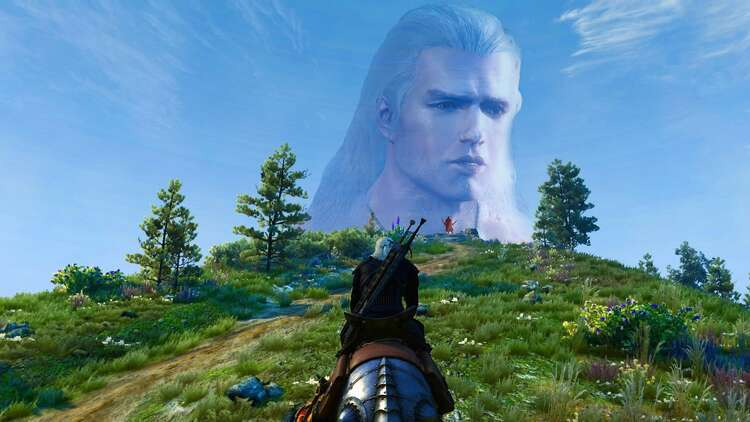 A New Mod For The Witcher 3 Sticks Henry Cavill S Face Onto