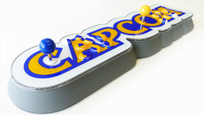 The Capcom Home Arcade has a bold design, and quality Sanwa parts to back it