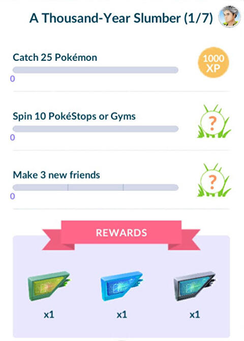 Pokémon Go Jirachi quest steps - every step in A Thousand