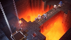 Il nuovo video gameplay di Minecraft: Dungeons si focalizza