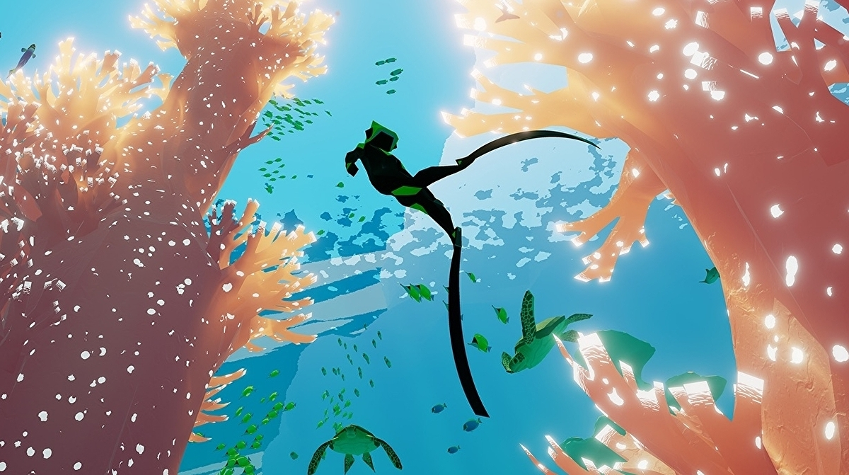 Abzû and The End is Nigh are currently free on the Epic Store