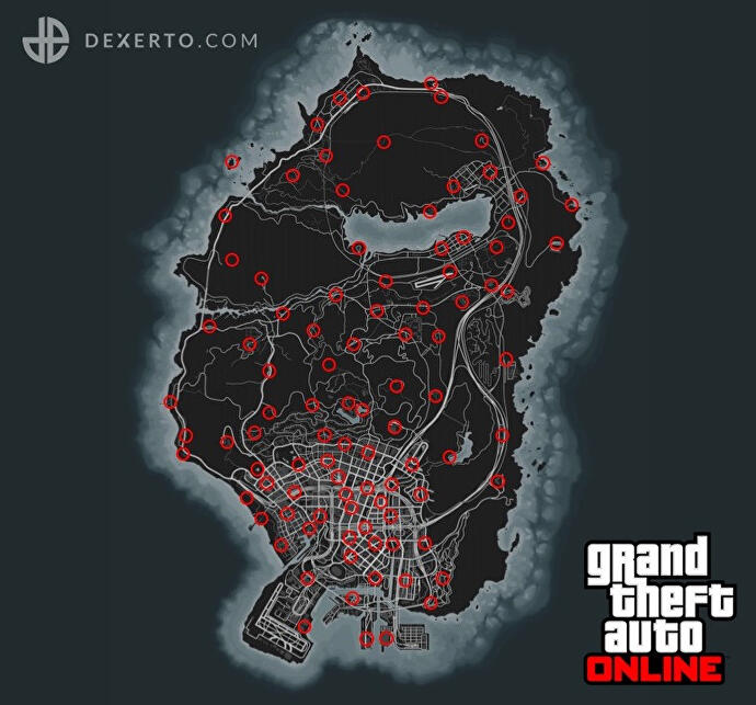 All_GTA_Online_action_figure_locations