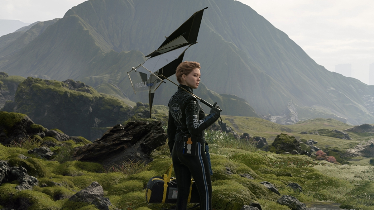 Here's nearly an hour of Death Stranding so you can try and figure out what's going on