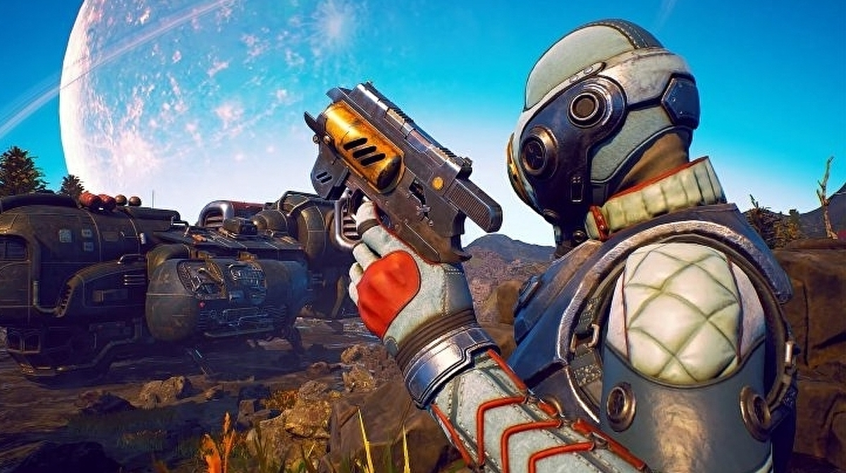 Here are 20 minutes of real-time The Outer Worlds gameplay