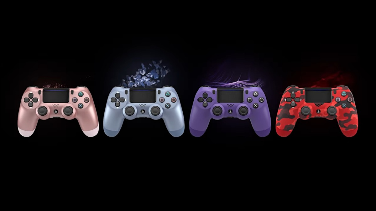 Here's where you can get those shiny new PS4 controller colours