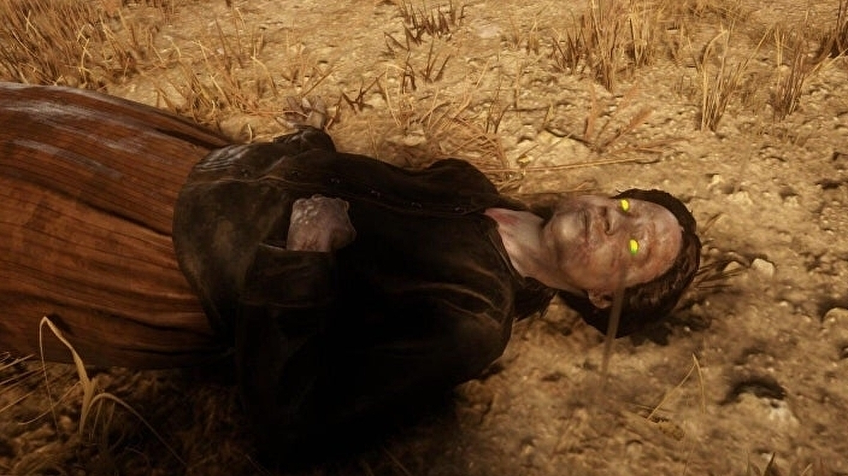 Red Dead online seems to have a zombie problem