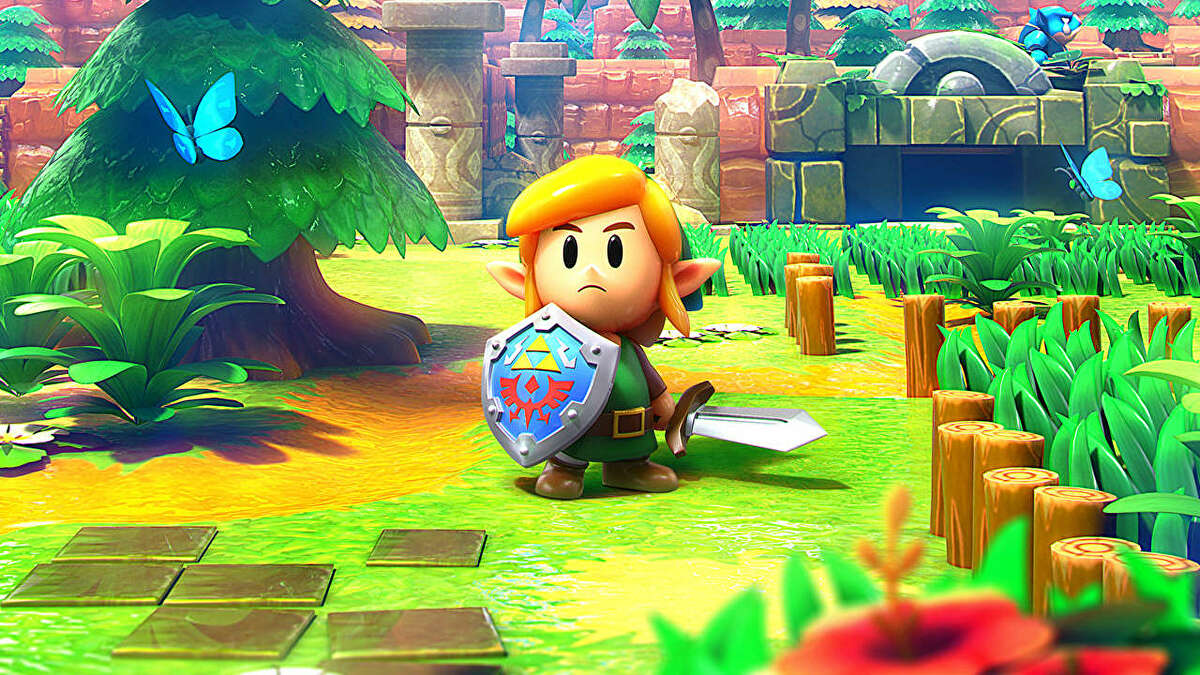 Zelda Link S Awakening Trading Quest Where To Trade The