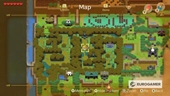 Zelda Link S Awakening Secret Seashell Locations And How To