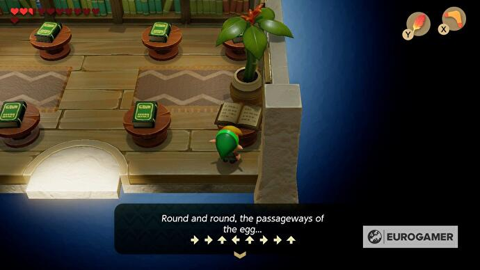 Zelda Link S Awakening Wind Fish S Egg Maze Solution