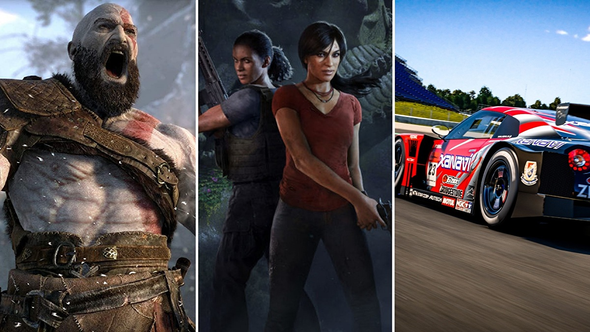 God of War, Uncharted: Lost Legacy and GT Sport join the PlayStation Hits lineup