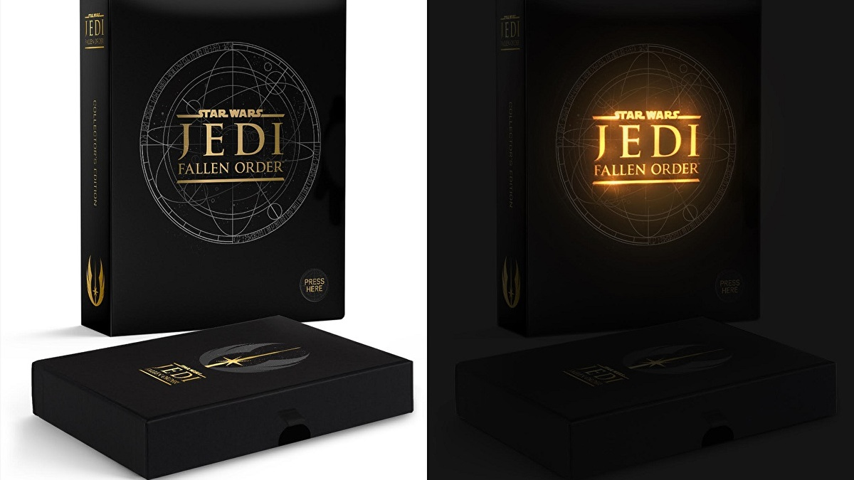 Star Wars Jedi: Fallen Order Collector's Editon leans towards the light side