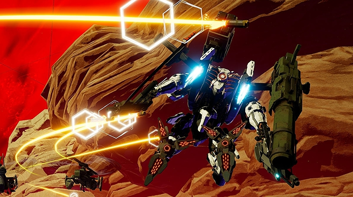 Switch mech shooter Daemon X Machina adds competitive multiplayer mode