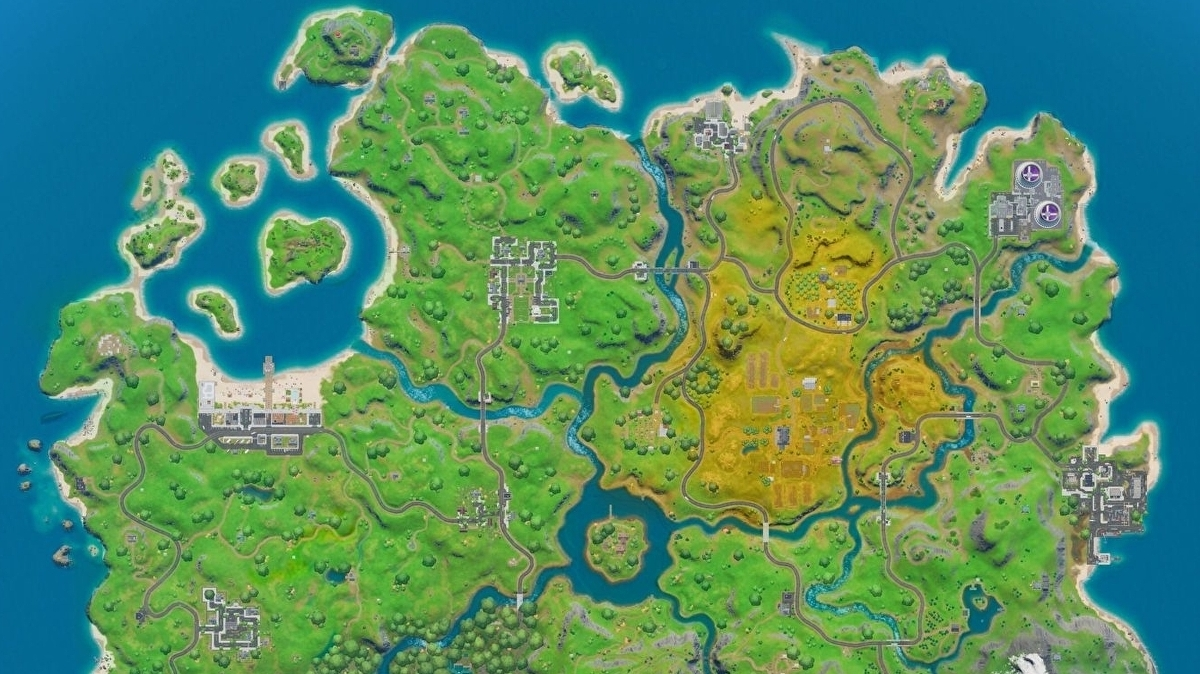 Fortnite New Map Landmarks And Named Locations Explained Eurogamer Net A new season means changes are in store once again for the fortnite map, and although they. fortnite new map landmarks and named