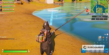Fortnite Fishing - how to catch a weapon and fishing locations ...
