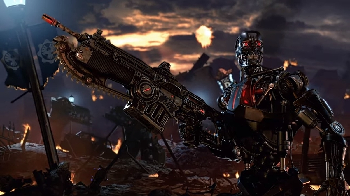 In Gears 5, Terminator is a bit of a cheat character