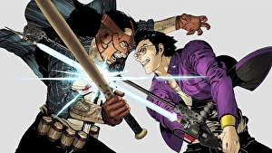 Tutto lo stile di Travis Strikes Again: No More Heroes invad